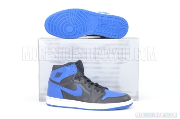 Air Jordan 1 Retro (Black/Royal Blue) 1