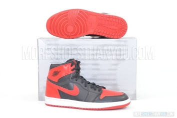 Air Jordan 1 Retro (Black/Varsity Red) 1