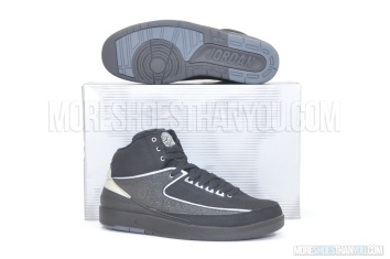 Air Jordan 2 Retro (Black/Chrome) 1
