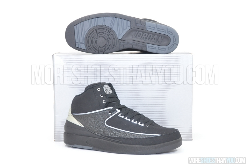 new style 9d0b5 c6839 Air Jordan 2 Retro (Black Chrome) 1