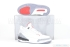 Air Jordan 3 Retro (White/Cement Grey-Fire Red) 1