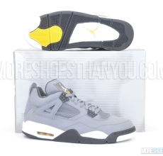Air Jordan 4 Retro (Cool Grey/Chrome-Dk Charc-V Mz) 1