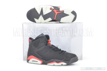 Air Jordan 6 Retro (Black/Deep Infared) 1