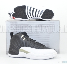 Air Jordan 12 Retro (Black/White-Varsity Red) 1