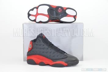 Air Jordan 13 Retro (Black/True Red) 1
