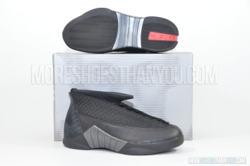 Air Jordan 15 (Black/Varsity Red) 1