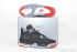 Air Jordan 4 Retro (Black/Cement Grey) 1