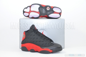 Air Jordan 13 (Black/True Red) 1