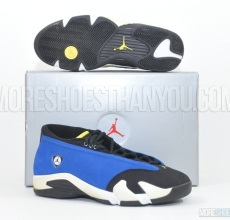 Air Jordan 14 Low (Varsity Royal/Black-White) 1