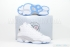 Air Jordan 13 Retro (White/Neutral Grey-Uni Blue) 1