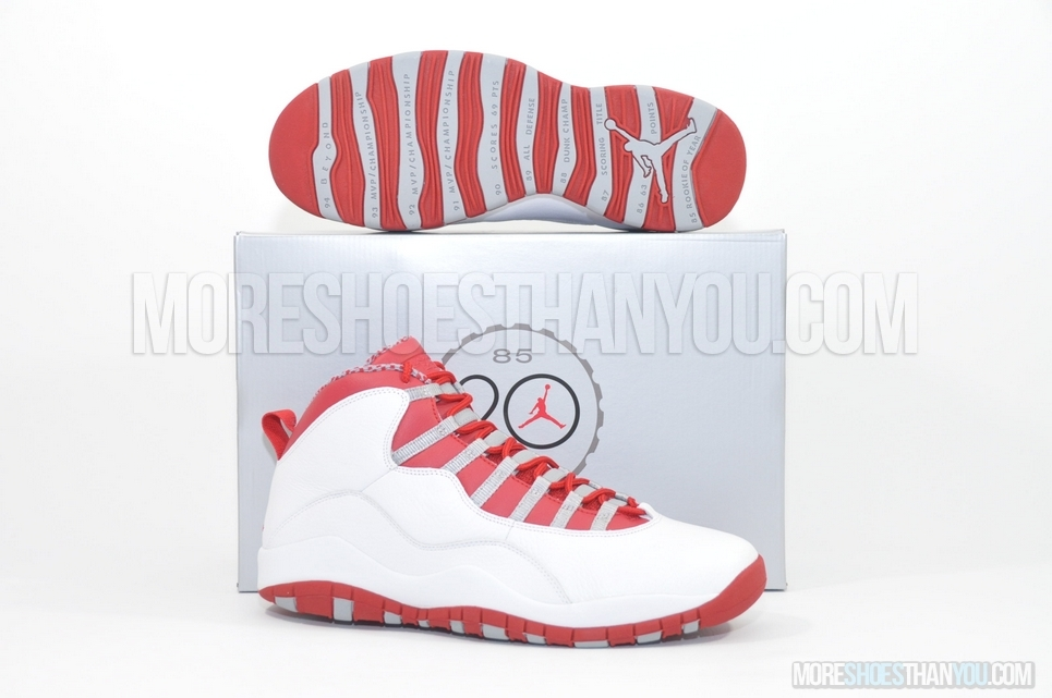 on sale 57534 61965 AIR JORDAN 10 RETRO WHITE/VRED-LT STEEL GREY