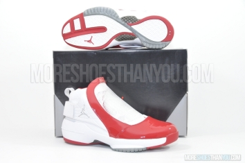 Air Jordan 19 (White/Chrome-Varsity Red) 1