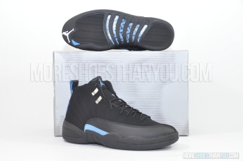 Air Jordan 12 Retro (Black/University Blue) 1