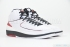 Air Jordan 2 Retro (White/Varsity Red-Black) 2