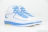 Air Jordan 2 Retro (White/University Blue-V Maize) 2