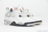 Air Jordan 4 Retro (White/Black) 2