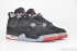 Air Jordan 4 Retro (Black/Cement Grey) 2