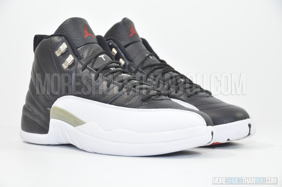 new arrival 4edb5 33e2d AIR JORDAN 12 RETRO BLACK/WHITE-VARSITY RED