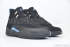 Air Jordan 12 Retro (Black/University Blue) 2
