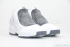 Air Jordan 19 (White/Chrome-Flint Grey-Black) 2
