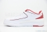 Air Jordan 2 Retro Low (White/Black-Varsity Red) 4