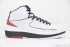 Air Jordan 2 Retro (White/Varsity Red-Black) 3
