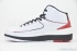 Air Jordan 2 Retro (White/Varsity Red-Black) 4