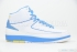 Air Jordan 2 Retro (White/University Blue-V Maize) 3