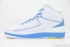 Air Jordan 2 Retro (White/University Blue-V Maize) 4
