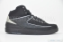 Air Jordan 2 Retro (Black/Chrome) 3