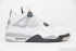 Air Jordan 4 Retro (White/Black) 3