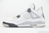 Air Jordan 4 Retro (White/Black) 4