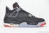 Air Jordan 4 Retro (Black/Cement Grey) 3