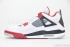 Air Jordan 4 Retro (White/Varsity Red-Black) 4