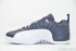 Air Jordan 12 Retro Low (Obsidian/University Blue-White) 4