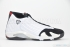 Air Jordan 14 Retro (White/Black-Var Red-Met Silv) 3