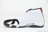 Air Jordan 14 Retro (White/Black-Var Red-Met Silv) 4