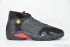 Air Jordan 14 Retro (Black/Varsity Red-Black) 3