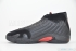 Air Jordan 14 Retro (Black/Varsity Red-Black) 4