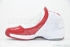 Air Jordan 19 (White/Chrome-Varsity Red) 4