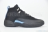 Air Jordan 12 Retro (Black/University Blue) 3