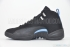Air Jordan 12 Retro (Black/University Blue) 4