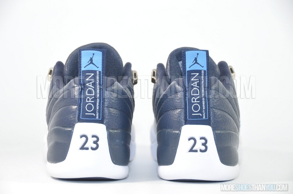 newest b2a5e a3fd0 ... Air Jordan 12 Retro Low (Obsidian University Blue-White) 6 ...