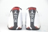 Air Jordan 14 Retro (White/Black-Var Red-Met Silv) 6