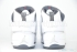 Air Jordan 19 (White/Chrome-Flint Grey-Black) 6