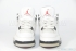 Air Jordan 4 Retro (White/Black) 5