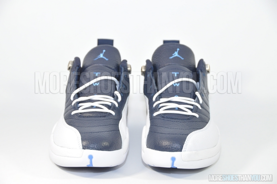 separation shoes 5b989 63b59 ... Air Jordan 12 Retro Low (Obsidian University Blue-White) 5 ...