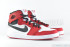 Air Jordan 1 KO High OG (White-Black-Gym Red) 2