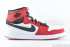 Air Jordan 1 KO High OG (White-Black-Gym Red) 3