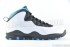 Air Jordan 10 Retro (White-Dk Powder Blue-Black) 3